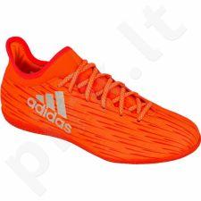 Futbolo bateliai Adidas  X16.3 IN M S79557
