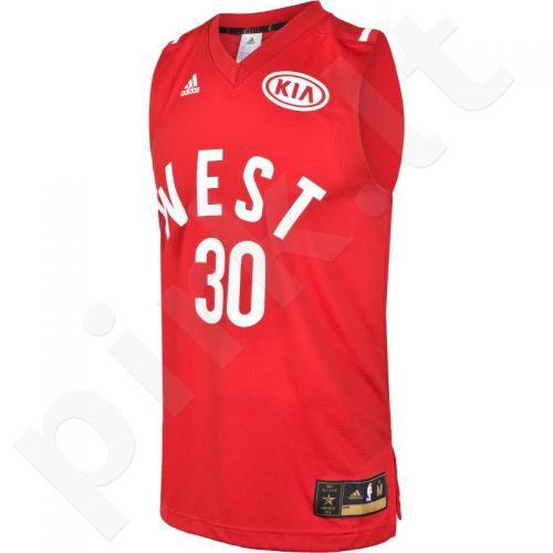 Marškinėliai krepšiniui Adidas Replica Stephen Curry All-Star M AU6141