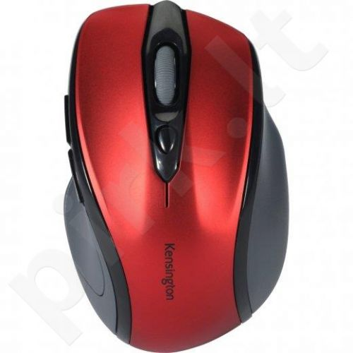 Bevielė pelė Kensington  Pro Fit Mid Size Wireless Ruby Raudona