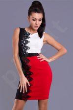 Emamoda suknelė - raudona 7810-1