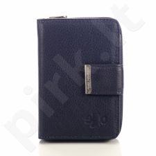 Piniginė moterims odinė tamsiai mėlyna  GA102