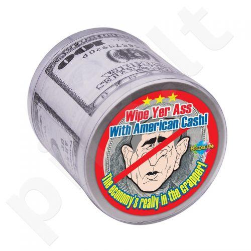 Tualetinis popierius - doleriai