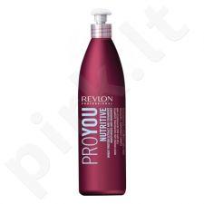 Drėkinamasis plaukų šampūnas Revlon ProYou Nutritive šampūnas, 350ml