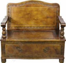 Ąžuolinis suolas-kėdė 89x99x56cm