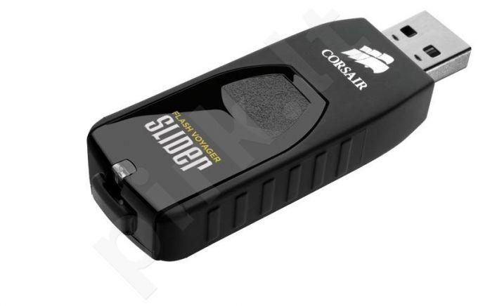Atmintukas Corsair Voyager Slider 64GB USB3, Ištraukiamas