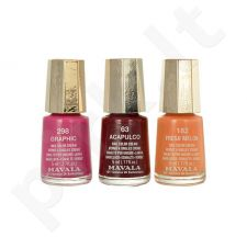 Mavala Nail Color kremas, kosmetika moterims, 5ml, (184 Frozen Berry)