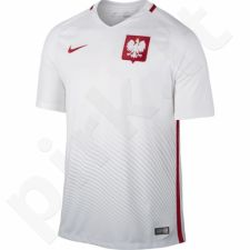 Marškinėliai futbolui Nike Polska Home Stadium 2016 M 724633-100