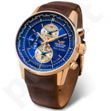 Vyriškas laikrodis Vostok Europe Gaz-14 Limousine World Timer/Alarm YM26-565B293