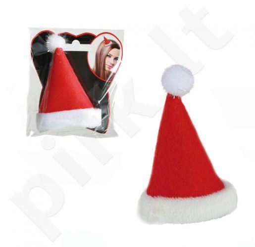 Maža prisegama Kalėdinė kepurėlė