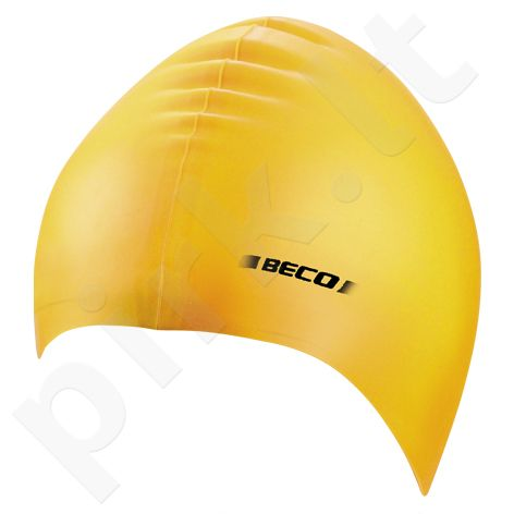 Kepuraitė plaukimui unisex silikoninė 7390 2 yellow