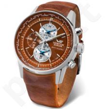 Vyriškas laikrodis Vostok Europe Gaz-14 Limousine World Timer/Alarm YM26-565A292