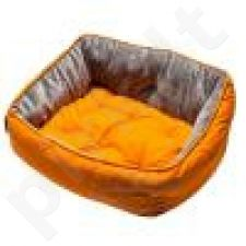 Rogz Guolis Luna Medium Orange Paw 56*43*29cm