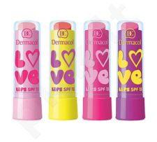 Dermacol Love Lips SPF15, kosmetika moterims, 3,5ml, (10 Grape)