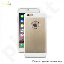 Apple iPhone 6/6S + iGlaze Amour snap-on dėklas 80251 auksinis