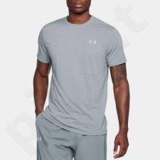 Marškinėliai treniruotėms Under Armour Streaker Shortsleeve M 1271823-038