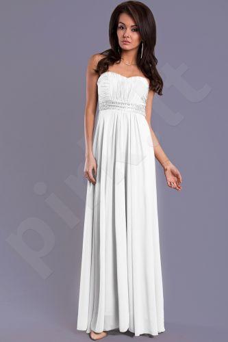 EVA&LOLA suknelė - balta 7909-4