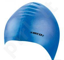 Kepuraitė plaukimui unisex silikoninė 7390 6 blue