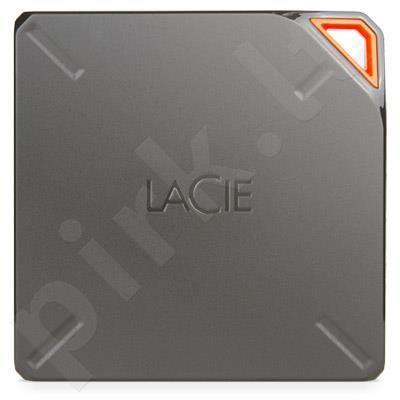 Bevielis išorinis diskas LaCie Fuel 2TB USB3, WiFi spindulys 45m, Iki 10 val