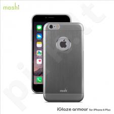 Apple iPhone 6/6S + iGlaze Amour snap-on dėklas 80021 pilkas