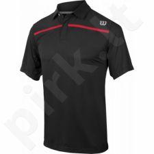 Marškinėliai tenisui Wilson Knit Stretch Woven Polo M WRA731902