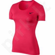 Marškinėliai treniruotėms Nike Pro Cool Short Sleeve W 725745-618