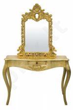 Makiažo staliukas aukso sp.