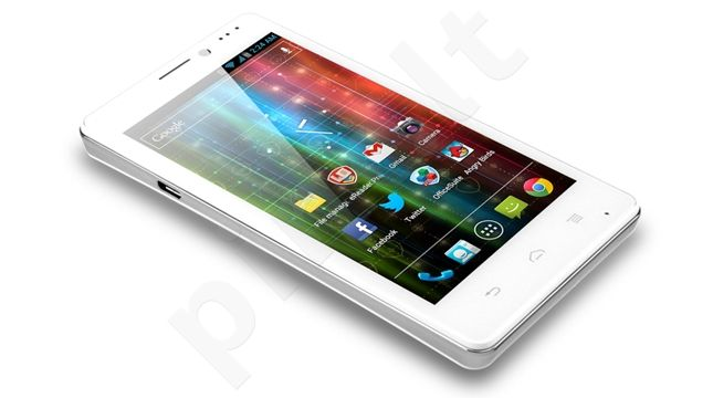 Prestigio MultiPhone PAP5430 Single SIM 5430 White