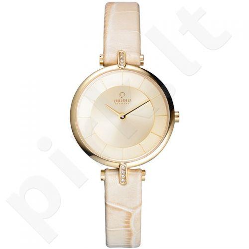 Moteriškas laikrodis OBAKU OB V168LEGGRX