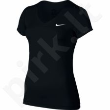 Marškinėliai treniruotėms Nike Victory Base Layer V-Neck Top W 824399-010