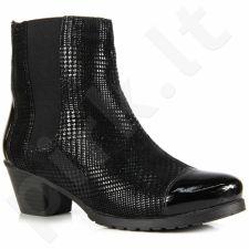 Rieker y0058-00 odiniai  auliniai batai  pašiltinti