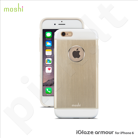 Apple iPhone 6/6S iGlaze Amour snap-on dėklas 79251 auksinis