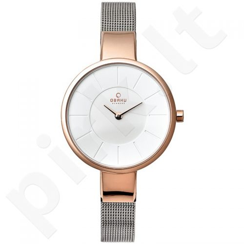 Moteriškas laikrodis OBAKU OB V129LXVIMC