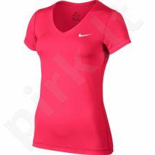 Marškinėliai treniruotėms Nike Victory Base Layer V-Neck Top W 824399-617