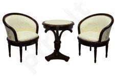 Žurnalinis staliukas + 2 kėdės