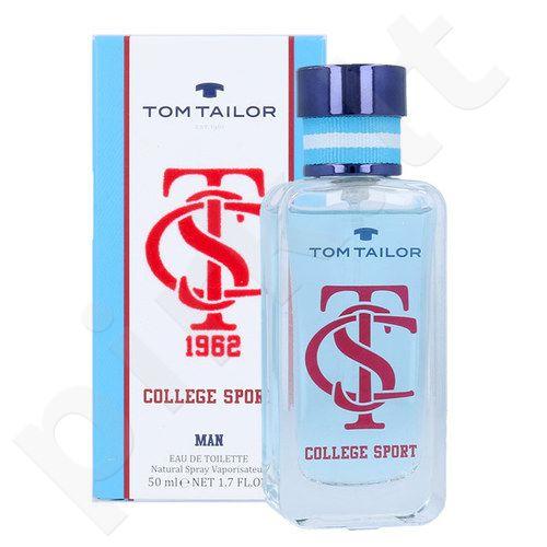 Tom Tailor College Sport, EDT vyrams, 30ml