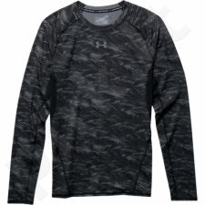 Marškinėliai kompresiniai Under Armour HeatGear® Armour Printed Long Sleeve Compression M 1258896-004