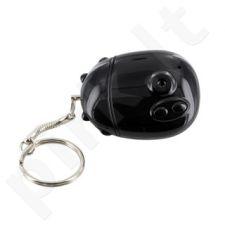 4World Raktų pakabukas-Mini DV kamera su diktofonas 8GB USB