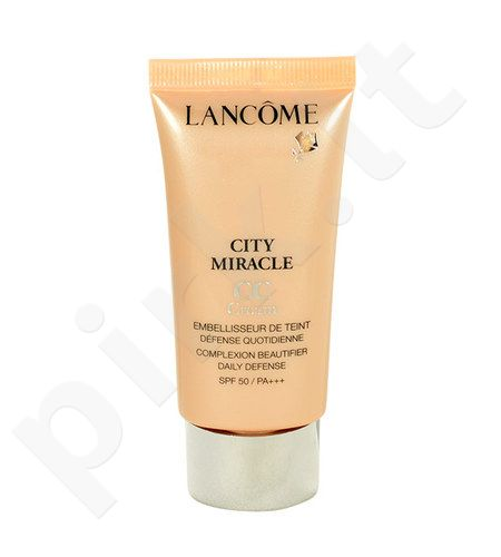 Lancome City Miracle CC kremas SPF50, kosmetika moterims, 30ml, (3)