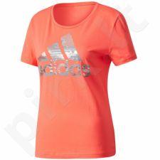 Marškinėliai adidas Essentials Foil Bos Regular Tee W CD1955