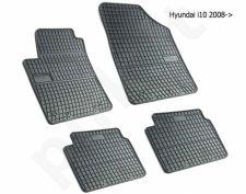 Guminiai  kilimėliai Hyundai i10 2007-2013 /4pc, 0425