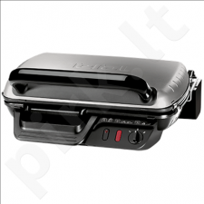TEFAL GC6000 Grill, Removable plates, Non-stick coating, Adjustable thermostat, Power 2400W, Dark silver-Black
