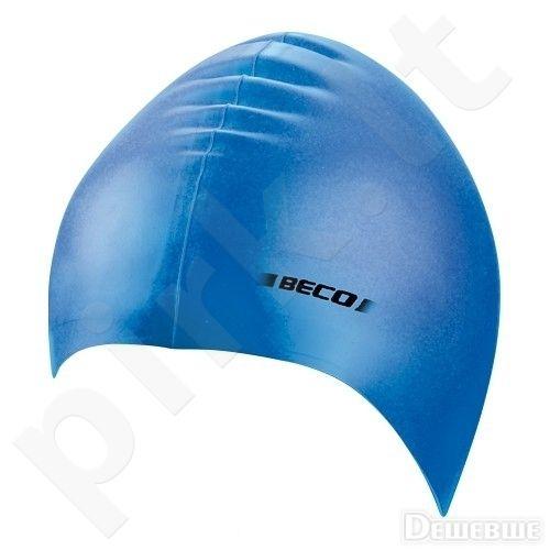 Kepuraitė plaukimui vaikams silikoninė 7399 6 blue