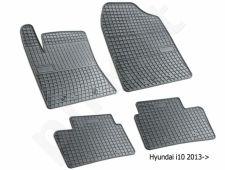 Guminiai  kilimėliai Hyundai i10 II 2013-> /4pc, 0437