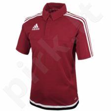 Marškinėliai futbolui polo Adidas Tiro 15 M M64024