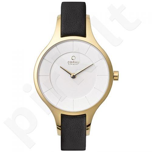 Moteriškas laikrodis OBAKU OB V165LXGIRB