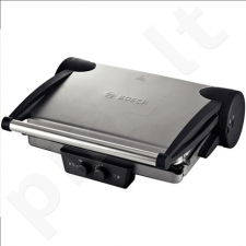 Bosch TFB4431V Contact Grill, Large grilling surface, Power 2000 W, Silver