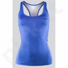 Marškinėliai treniruotėms Outhorn W TOL16-TSDF608 mėlyna