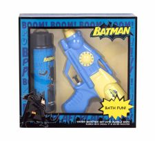 DC Comics Batman, rinkinys vonios putos vaikams, (Bubble bath 250 ml + Water Shooter 1 ks)