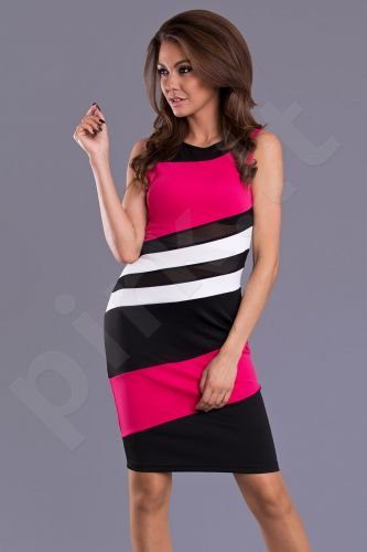 Emamoda suknelė - fuksija 9102-1