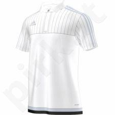 Marškinėliai futbolui polo Adidas Tiro 15 M S22437